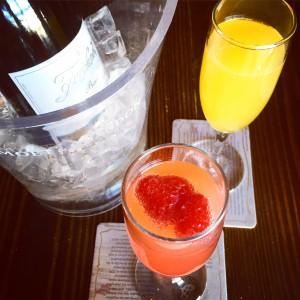 Draught mimosa bar