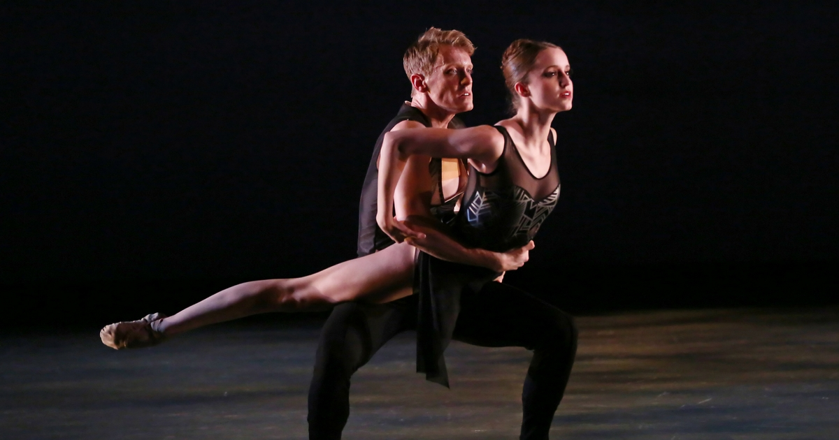charlotte-ballet_innovative-works_sasha-janes_sketches-from-grace_dancers-chelsea-dumas-and-james-kopecky_photo-by-christopher-record_facebook-crop
