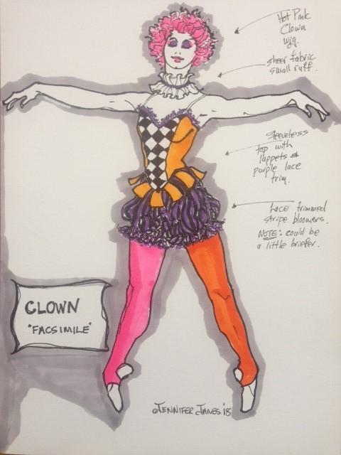 female-clown